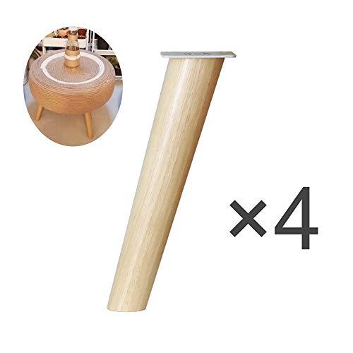 Furniture legs Möbelfüße Aus Massivholz,4 StüCk, Konische StüTzbeine, Sofa- / SchrankfüßE LZPQ -