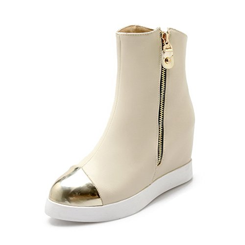 allhqfashion-womens-soft-material-round-closed-toe-assorted-color-low-top-high-heels-boots-beige-37