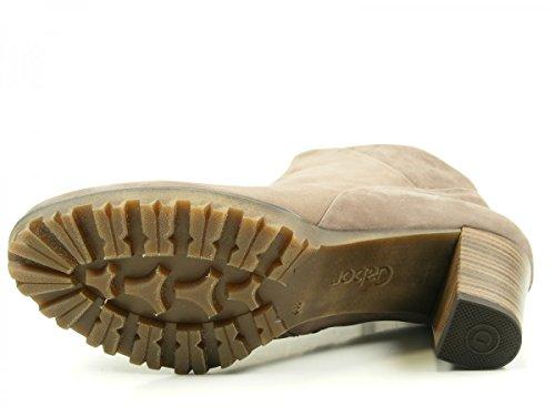 Gabor 52-861 Schuhe Damen Stiefeletten Ankle Boots Weite G Grau