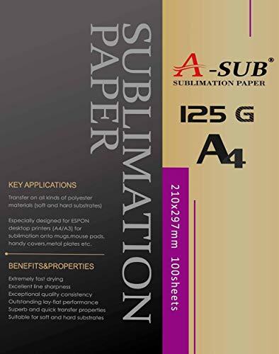 A-SUB papel sublimación A4 impresoras EPSON ME Series