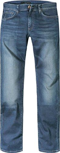 Calvin Klein Jeans Herren Jeans Denim-Hose, Größe: 34/32, Farbe: Blau - Calvin Klein Herren-stoffhosen