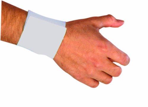 Griff aus WR100-MD Leder mit elastischem Bund am Handgelenk Medium Zurückhaltung mit Klettverschluss