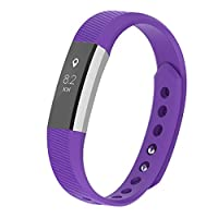 ‏‪TPU Sports Replacement Band for Fitbit Ace Ultrathin Wristbands 6.7-8.1inches‬‏