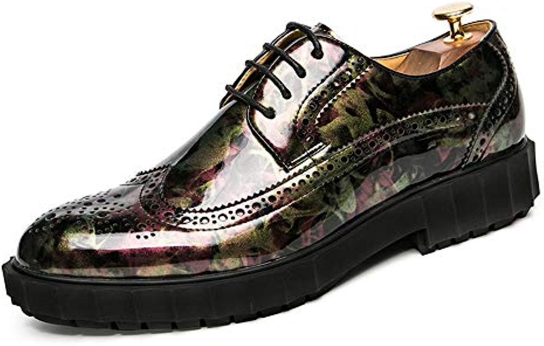Jiuyue-scarpe, 2018 Casual da Uomo Casual Casual Casual Fashion Oxford di Coloreee Contrasto Intaglio Outsole Scarpe Brogue Scarpe... | Pacchetto Elegante E Robusto  da1ac3