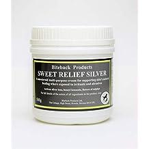 Biteback Products Sweet Relief Silver Crema Multiuso para apoyar la curación Natural de la
