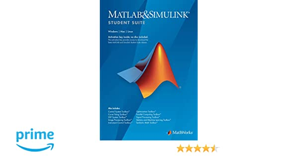 MATLAB and Simulink Student Suite R2019a