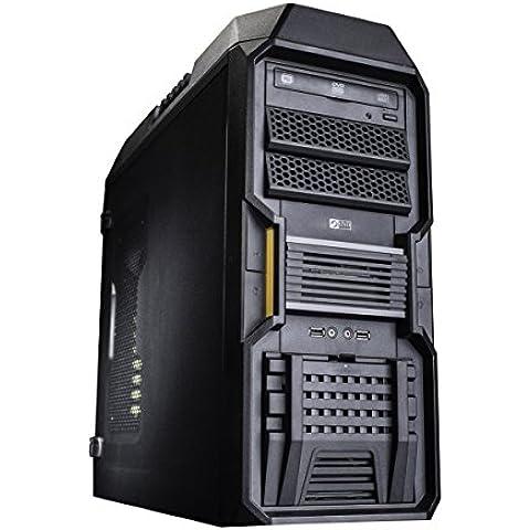 Chiligreen entusiasta DT 2155 Desktop PC (Intel Core i7 4790k, 4 GHz, 8 GB de RAM, disco duro 1256GB, Gigabyte NVIDIA GF GTX 970 OC con 4 GB GDDR5, Win 10 Inicio)