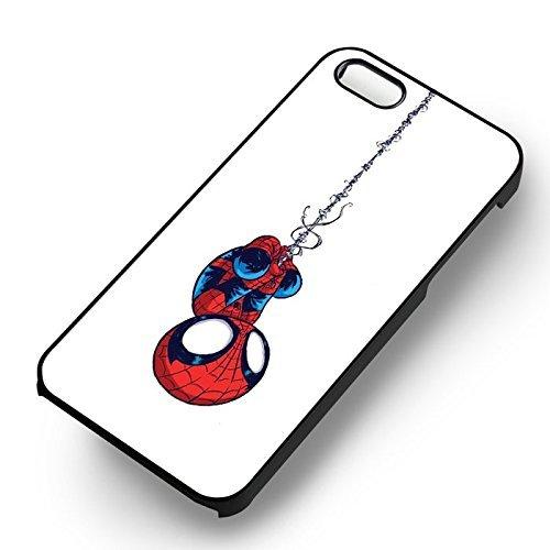 Baby Spider Für Iphone 6 und Iphone 6s Hülle (Schwarzen Hartplastik Hülle) U3L5CT (Spider Baby)