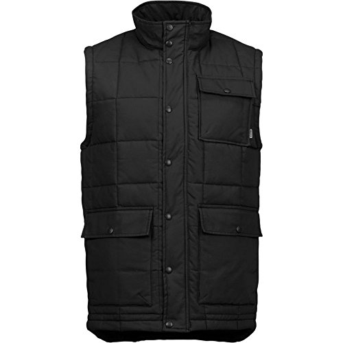 Burton Herren Weste Woodford Vest, True Black, M | 09009520374098