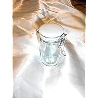 Tarro de cristal con cierre hermético