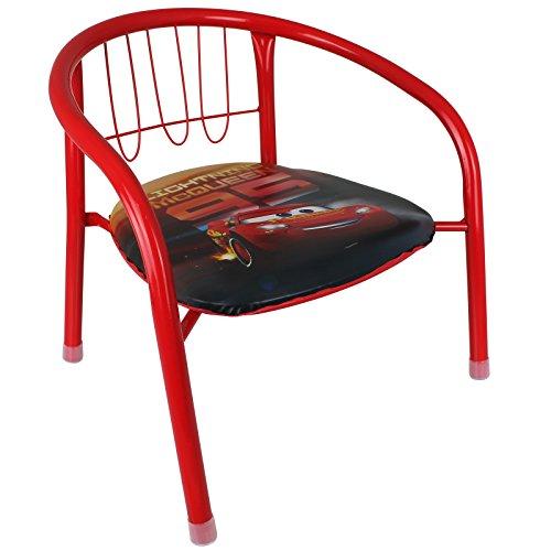 Arditex Kinderstuhl - Stuhl - Metallstuhl Kinder mit Disney Motivauswahl (Cars)