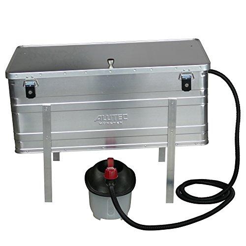 Aluminium Dampfwachsschmelzer 140 Liter inkl. Dampferzeuger