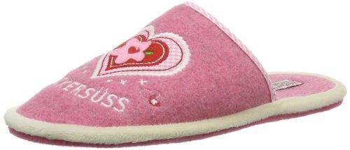 Adelheid Damen Zuckersüss Filzpantoffel Pantoffeln, Pink (Himbeere / 603), 38/39 EU