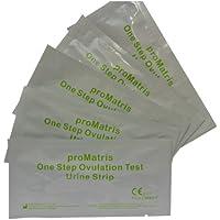 One Step - 10 Prueba de Ovulación 20 mIU/ml y 2 Tests de Embarazo 10mIU/ml - Nuevo Formato Económico de 2,5 mm.
