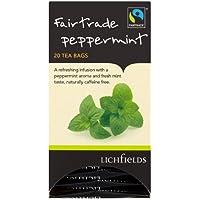 Lichfields Fairtrade Peppermint 20 Teebeutel 30g (Packung mit 6 x 20s) preisvergleich bei kinderzimmerdekopreise.eu
