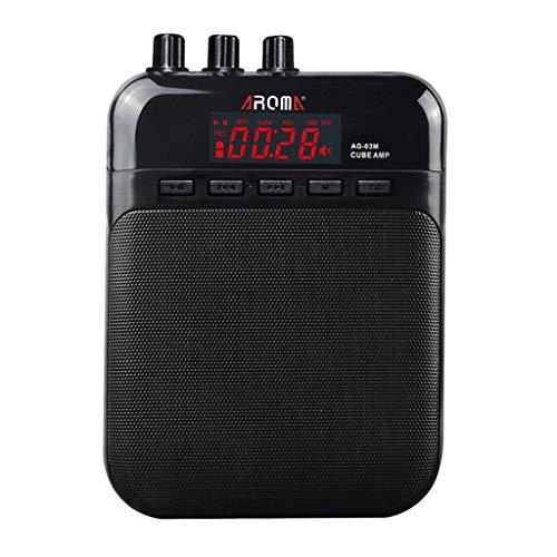Tubayia - Amplificatore per chitarra e ukulele, per cuffie e microfono