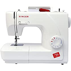 Singer 1507 - Máquina de coser mecánica, 9 puntadas, color blanco