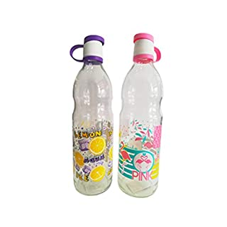 Anitex 2 Water Bottles with Lid 1L