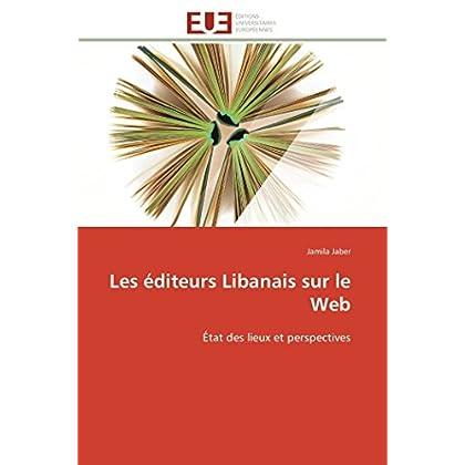 Les éditeurs libanais sur le web