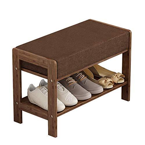 TQ Zapato Rack Bambú Baño Sala De Estar Porche Zapato