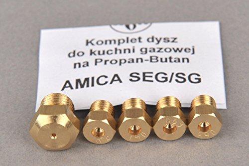 Inyector Gas Butano GLP Cocina a Gas AMICA SEG / SG I