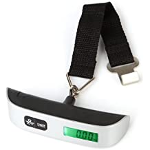 50kg/10g Handheld LCD Display Digital Luggage Scale Weighing Scale with Hook