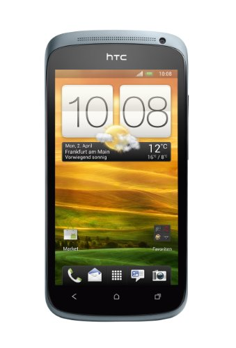 HTC HTC ONE S Smartphone (10,9 cm (4,3 Zoll) AMOLED-Touchscreen, 8 Megapixel Kamera, Android OS) grau