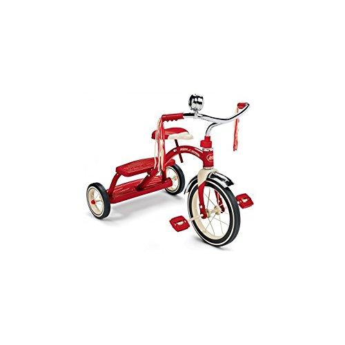RADIO FLYER - Clásico triciclo rojo de doble cubierta - RF-433A