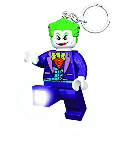 LED Joker keyring - lego Dc comics super heroes