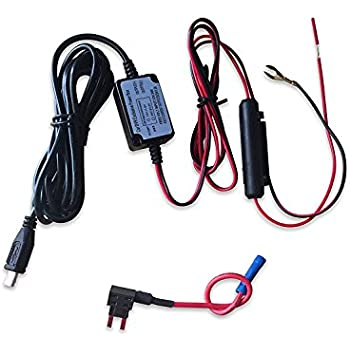 412ZhGwJJUL._SL500_AC_SS350_ car camera hard wire kit with micro usb direct hardwire amazon co  at n-0.co