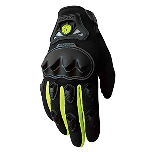 Crazy CAMC29da al cavalletto full-finger Sporty full-finger antiscivolo guanti da moto nero rosso blu verde m/L/XL