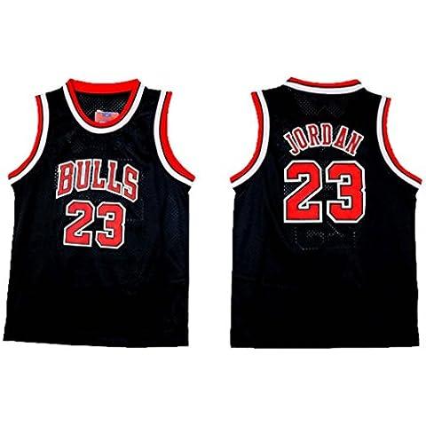Youth Michael Jordan Black Basketball Jersey XL by Doonget