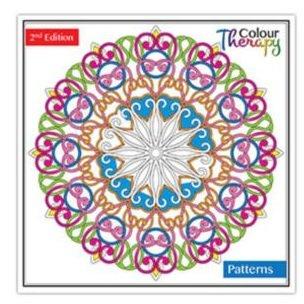 Erwachsene Färbung Farbe Bücher Calm Therapie 30 Perforiert Seiten 60 Designs - Muster