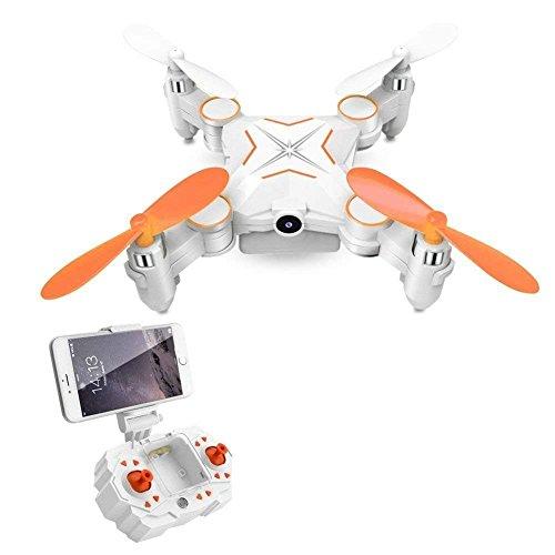 JHSHENGSHI RC Drohne, faltbar FPV VR WiFi RC Quadrocopter, Drohne mit Fernbedienung, mit HD 720P Kamera Für Kinder Kinder Anfänger Erwachsene