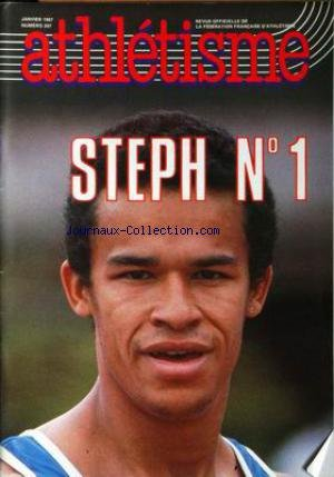 ATHLETISME [No 297] du 01/01/1987 - STEPH N-í1. par Collectif