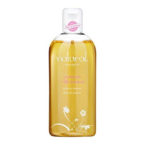 Natural Wellness Massageöl, erotisches Massage-Öl, blumiger Jasmin Duft, 250 ml