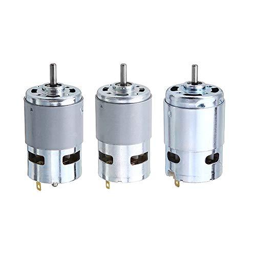 Asdomo 775 795 895 Motor- / Motorhalterung DC 12V-24V 3000-12000RPM Motor Getriebemotor mit großem Drehmoment -