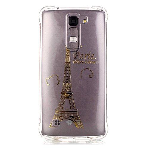 Qiaogle Téléphone Coque - Soft TPU Silicone Housse Coque Etui Case Cover pour Apple iPhone 5 / 5G / 5S / 5SE (4.0 Pouce) - YY06 / Paris when I dream YY06 / Paris when I dream