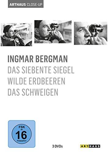 Arthaus Close-Up: Ingmar Bergman (Das siebente Siegel/Wilde Erdbeeren/Das Schweigen) [3 DVDs]
