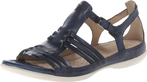 Ecco Flash Brick Ice Point 240743 Damen Slipper, Blau (DENIM BLUE 01086), EU 41