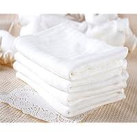 LOCOTECH - Pañales de gasa de algodón, 60 x 50 cm, lavables