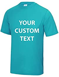 AWD Custom Printed Personalised Just Cool T-Shirt kids and adults CUSTOM text print Just Cool T-Shirt in GIFT BOX