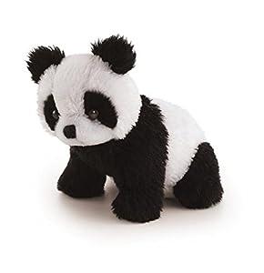 Trudi 50440 Oso Panda de Juguete Negro, Color Blanco Juguete de Peluche - Juguetes de Peluche (Oso Panda de Juguete, Negro, Color Blanco, 90 mm)