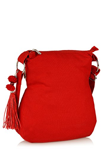 pick pocket Women's Sling Bag (Crimson, Slredemb39) Image 2