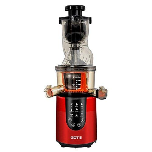 Gotie GSJ-600R Licuadora de Prensado En Frío 200 W, Rojo