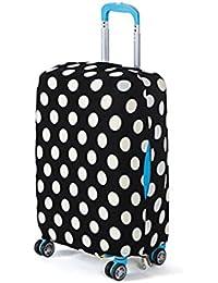 Qiman Funda para maleta de 18 a 28 pulgadas con elástico resistente al polvo