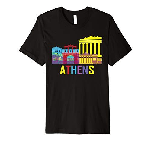 Athen Griechenland Greece Hemd T-Shirt