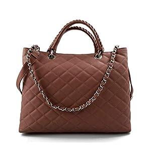 Damen schultertasche nude rosa leder damen handtasche damen henkeltasche leder damentasche leder schultertasche leder henkeltasche
