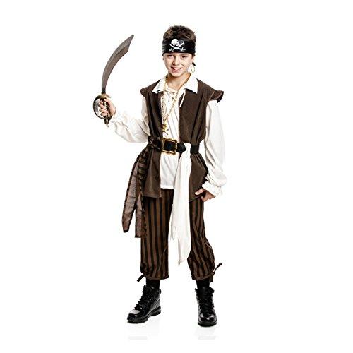 Kostümplanet® Piratenkostüm Kind Jungen Kostüm Pirat 116 (Erstaunlich Kostüm Für Jungen)