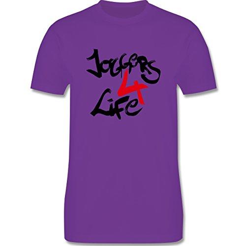 Statement Shirts - Joggers 4 life - Herren Premium T-Shirt Lila